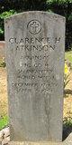Profile photo:  Clarence H. Atkinson