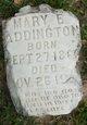 Profile photo:  Mary E. Addington