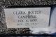 Clara <I>Boiter</I> Campbell