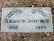 Dr Robert McKenzie Jeter