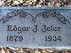 Dr Joshua Edgar Jeter