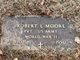 Pvt Robert L Moore