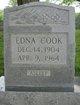 Edna Mae <I>Montooth</I> Cook
