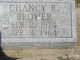 Profile photo:  Chancy R. Brower