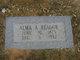 Profile photo:  Alma Augusta <I>Hale</I> Reagor