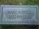 Mary Ann <I>Cox</I> Boyd