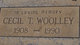 Cecil T. Wooley