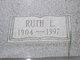Ruth Elizabeth <I>Lehr</I> Luke