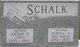 Bertha Ann <I>Wirsch</I> Schalk