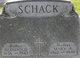 """Maria Anna """"Mary"""" <I>Geiger</I> Schack"""