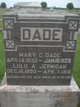 Mary Catherine <I>Weidemeyer</I> Dade