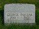Profile photo:  George Pavlyak