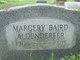 Margery Louise <I>Baird</I> Aldenderfer