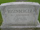 Profile photo:  Clara <I>Snyder</I> Rosenberger