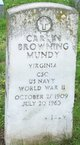 Carlin Browning Mundy