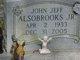 "Profile photo:  John Jeff ""Jiggs"" Alsobrooks, Jr"