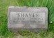 Edith May <I>Hardyman</I> Shaver