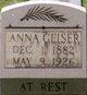 Profile photo:  Anna Geiser