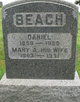 Mary Amanda <I>Fisher</I> Beach