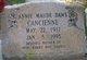 Profile photo:  Annie Maude <I>Daws</I> Cancienne