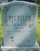Annie L. <I>Pittsley</I> Pittsley