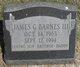 James 'Jim' Grant Barnes III