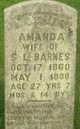 Profile photo:  Amanda <I>Johnson</I> Barnes