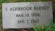 F Ashbrook Barney