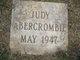 Judy Abercrombie