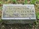 Alice <I>Carver</I> Ludington