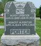 Mary <I>Isaacs</I> Porter