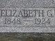 Elizabeth Gertrude <I>Harter</I> Sarge