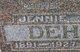 "Jeanette ""Jennie"" <I>Jewell</I> Dehmlow"