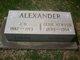 Profile photo:  Lexie Etta <I>Atwood</I> Alexander