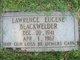 Lawrence Eugene Blackwelder