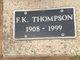 Frank Kermit Thompson