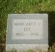 "Margaret Virginia ""Jennie"" <I>Hudkins</I> Lee"