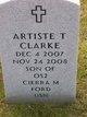 Profile photo:  Artiste Tyrone Clarke