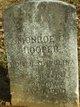 Sgt Monroe Cleveland Hooper
