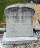 Profile photo:  Myrtle <I>Miller</I> Ables