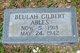Profile photo:  Beulah <I>Gilbert</I> Ables
