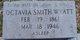 Octavia <I>Smith</I> Wyatt