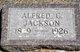 "Profile photo:  Alfred Garet ""Fred"" Jackson"