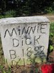 Minnie Lizzie <I>Phillips</I> Dick