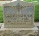 Profile photo:  Adolphus Marion Allen