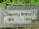 Profile photo:  Johanna <I>Hanley</I> Howard