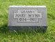 """Mary Jane """"Granny"""" <I>Kelly</I> Wynn"""