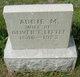 Profile photo:  Abbie M. <I>Borden</I> Little