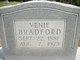 Profile photo:  Elvine Venie <I>Edwards</I> Bradford