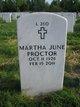 Martha June <I>Meehan</I> Proctor